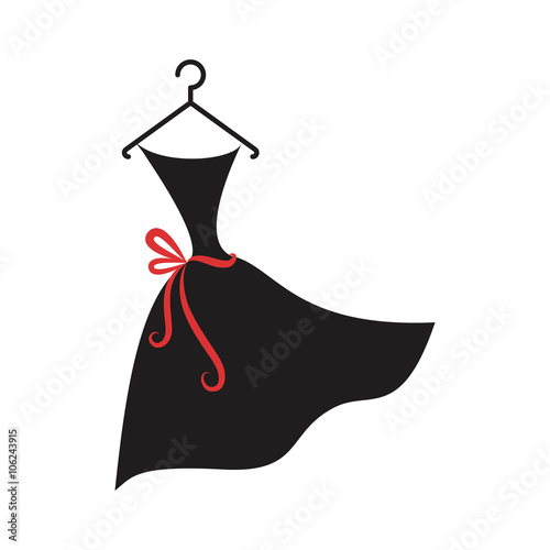 """little black dress"" Stock image and royalty-free vector ..."