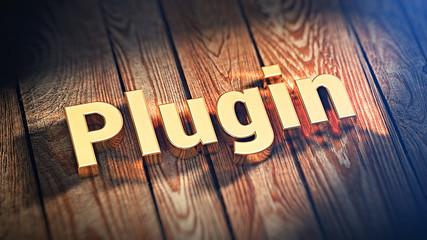 Word Plugin on wood planks