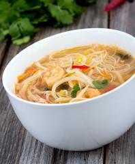 thai spicy shrimp noodle