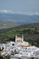 Lefkes, Paros, Griechenland