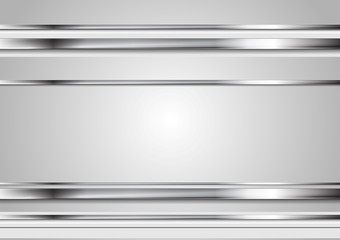 Minimal abstract technology metallic vector background Wall mural
