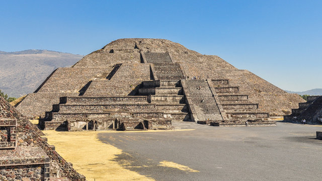 Pyramid of the Moon - Teotihuacan, Mexico