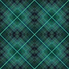 Seamless retro tartan checkered texture plaid pattern background
