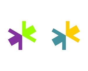 Health Colorful Cross and Arrow 2