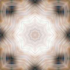 Mystical symbol, beautiful abstract decoration