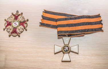 Awards of the Russian Empire - the George Cross, 19th century