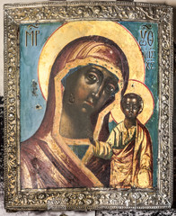 Ancient icon in salary, 19th century