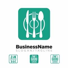 restaurant vector logo icon