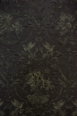 dark gold wall ornament texture background
