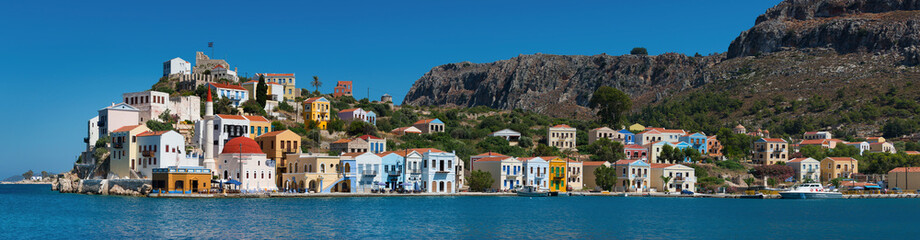 Kastellorizo is a Greek island and municipality located in the southeastern Mediterranean.