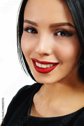 incredible black outfit red lips 9