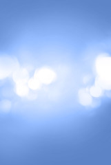Abstract Light Blue Gradient Bokeh Background