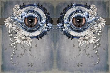 ornamented eyes