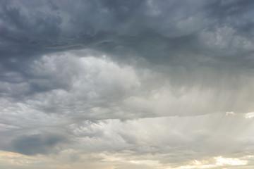 Gefährliche Sturmwolken