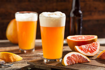 Sour Grapefruit Craft Beer