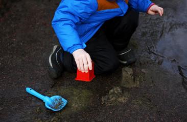 Children's outdoor play.