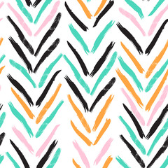 Hand drawn boho pattern
