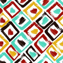 aztec pattern boho color