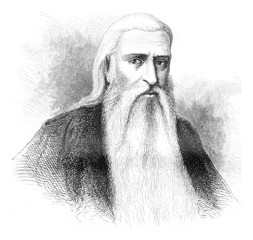 Georg Brankovic, vintage engraving.