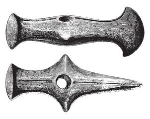 Museum of Copenhagen, Age of polished stone, Sandstone hammer, v