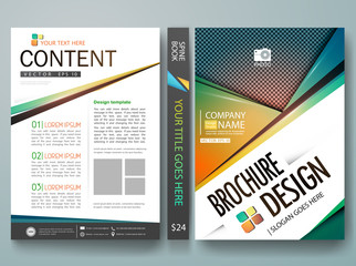 Vector,modern flyers brochure,cover,annual report,design templates,layout with colorful abstract polygons patterns background in a4 size,To adapt for business poster,book,presentation, illustration