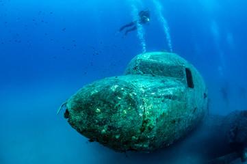 Acrylic Prints Shipwreck Airplane Wreck