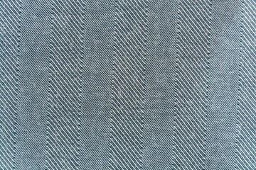 Yhe background, texture of gray striped woolen cloth