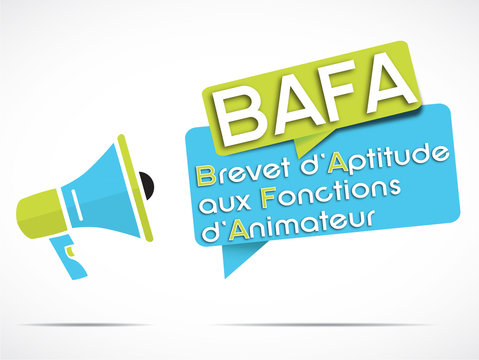 mégaphone : BAFA