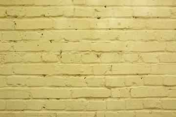 Fototapeta Mur z cegły - przemalowany