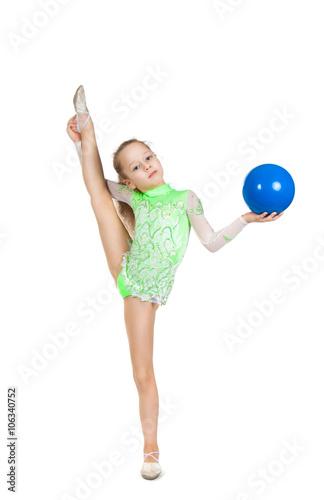little girl gymnastic секси-ил2