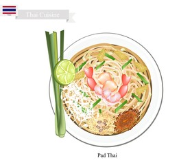 Pad Thai or Thai Stir Fried Noodles