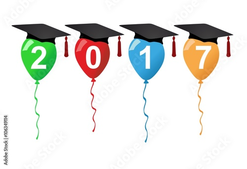 """""""Graduation party 2017"""" Stock image and royalty-free ..."""