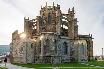 Cathedral of Castro Urdiales, Spain