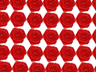 fabric red roses background