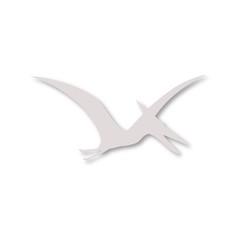 Pterodactyl silhouette icon