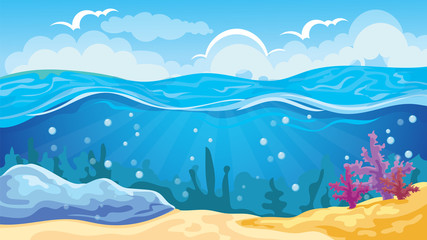 Game Seascape Background