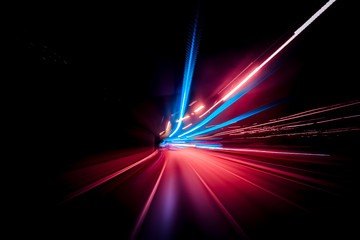 Colorful speed motion background Fotomurales