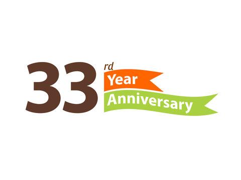 33 year anniversary