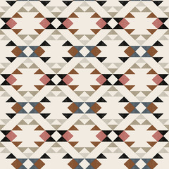 Navajo ethnic pattern - vector illustration.