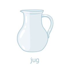 Glass jar. Kitchenware