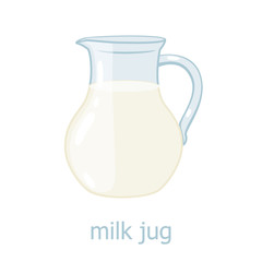 Milk jar. Dairy production