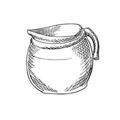 Coffee Pot Illustration 2