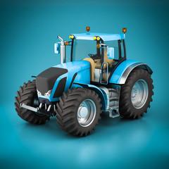 Beautiful modern tractor