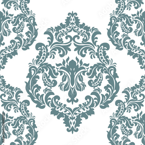 Vintage Damask Royal Ornament Element Luxury Texture For Wallpapers Fabric Textile Design
