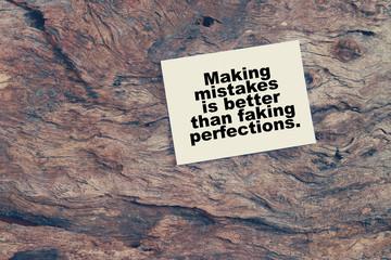 Inspirational Typographic Quote