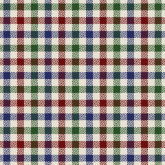 textured colored cloth in small squares seamless pattern