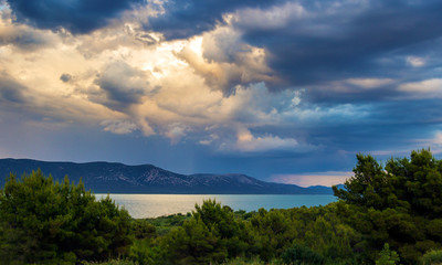 Vrana lake in Croatia.