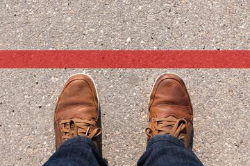 """Überschreitung der """"Roten Linie"""""""