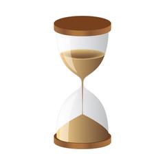 Hourglass sand clock
