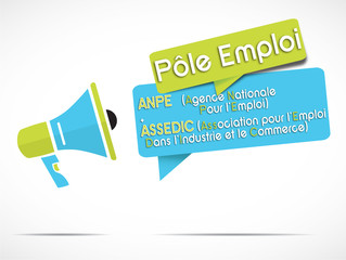 mégaphone : Pôle emploi (anpe + assedic)